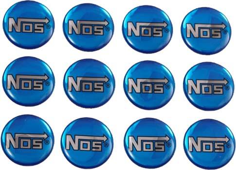 NOS Sheet of Domed Labels